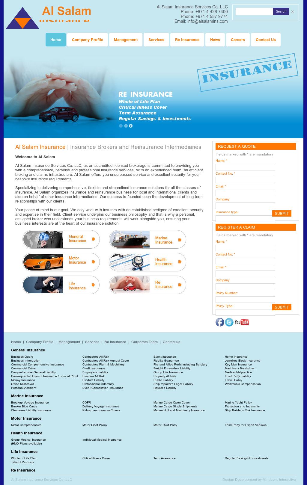 Al Salam Insurance Services Company
