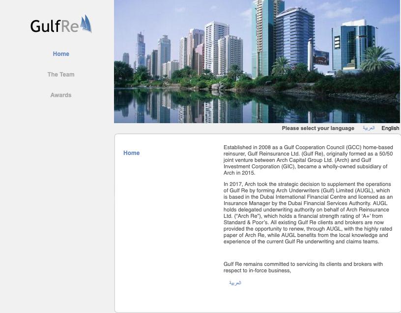 Gulf Reinsurance Limited