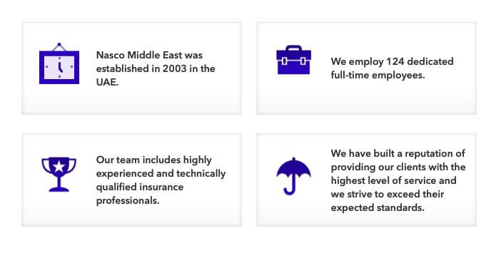 Nasco M.E. Insurance Brokers