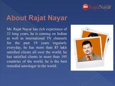 Rajat Nayar astrologer