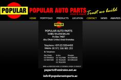 Popular Auto Parts